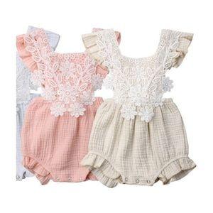 Other - Baby girl lace sunsuit romper jumper jumpsuit